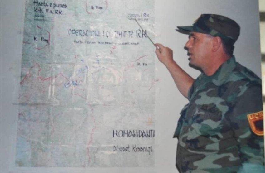 Bildergebnis für major nazif ramabaja